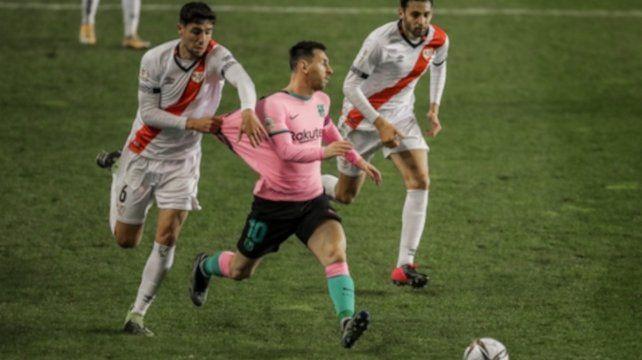 A Lionel Messi no lo pueden parar