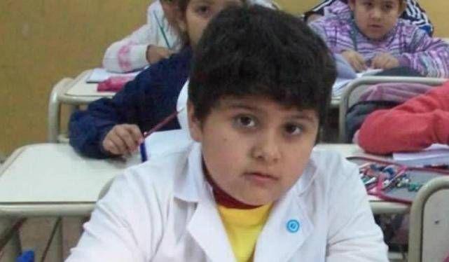 Mauro tenía siete años. Nunca pudo superar las graves heridas que sufrió al inhalar el polvo.