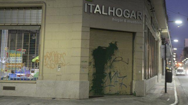 Vandalismo y repudio