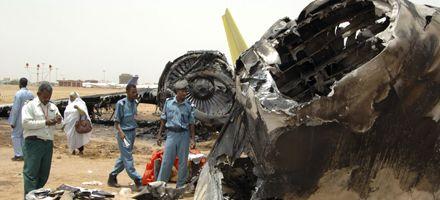 Corrigen cifra de víctimas de accidente aéreo en Sudán: los muertos son 28