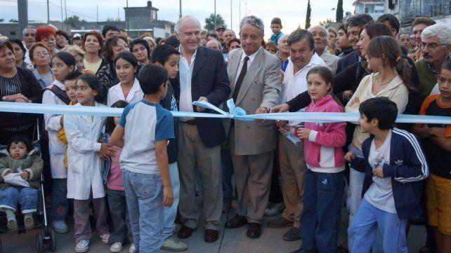 16/03/07 Inauguración de la obra definitiva del Boulevar Segui. Foto: Daniel Carrizo