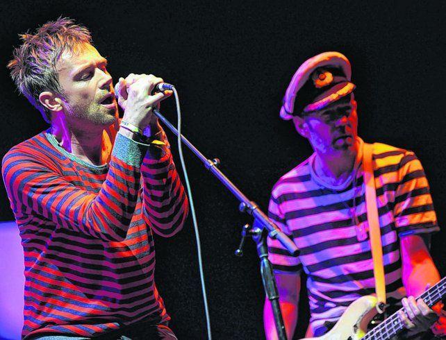 Voz líder. El inquieto Damon Albarn retomó el proyecto de Gorillaz a seis años del último álbum del grupo.
