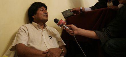 Evo Morales entra en su tercer día de ayuno sin lograr aprobación del código electoral