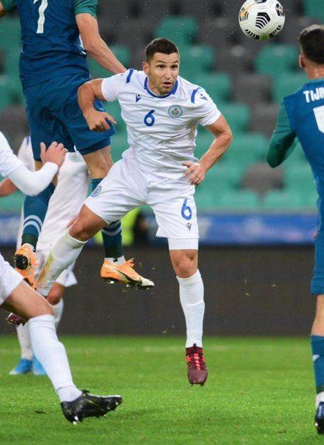 Dante Rossi hizo las inferiores en Newell's y ahora juega en la selección de San Marino.