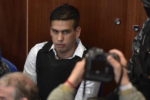 la voz. Ramón Machuca es quien más habló durante la primer etapa del juicio.