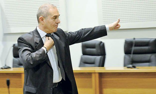 Acusador. El fiscal de Cámaras Guillermo Camporini lleva adelante las imputaciones contra los integrantes de Los Monos.