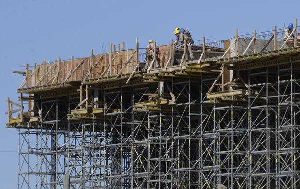 Ladrillos. La construcción es el sector que mayor nivel de actividad registró en lo que va del año 2015.