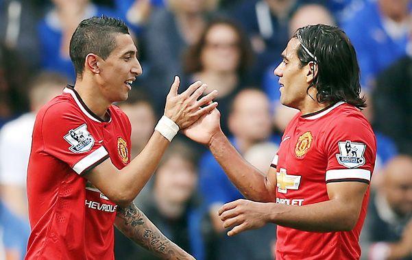 Manchester United ganaba con una joya del rosarino Angel Di María.