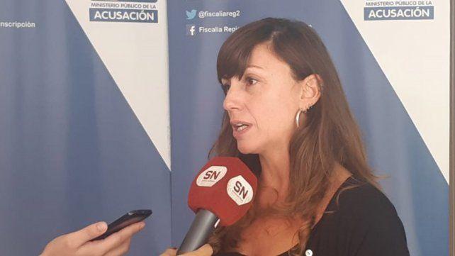 La fiscal Luciana Vallarella