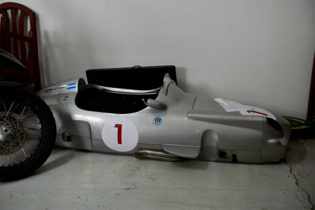 ¿Qué pasó con la réplica del auto de Fangio secuestrada en el marco de la megaestafa?