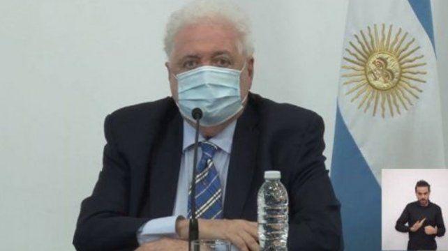 Ginés aseguró que el sistema sanitario posee una capacidad ociosa notable