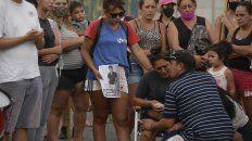 Familiares y allegados de Mariano Melgarejo se manifestaron en el lugar del hecho