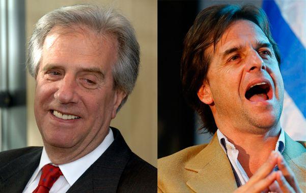 Experiencia. Vázquez quiere ser de nuevo presidente. Juventud. Lacalle Pou es la novedad política uruguaya.