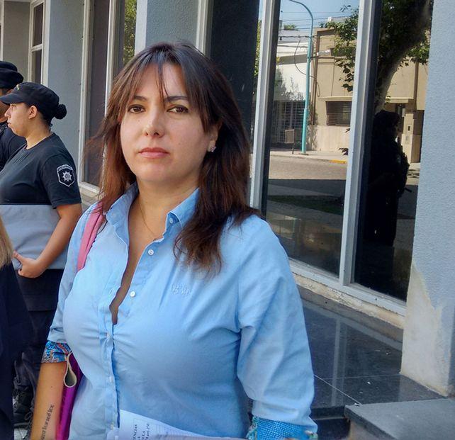 La fiscal Gabriela Lema.