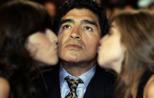 Diego solo reconoce como sus hijas legítimas a Dalma y Gianina.