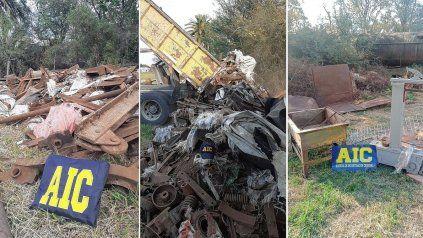 Imputaron a 12 personas por el robo de 200 mil kilos de material ferroviario
