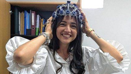 Doctora en Bioingeniería Victoria Peterson, investigadora del Imal - Conicet.