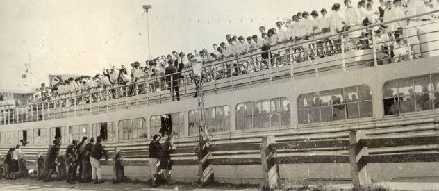 El Ciudad de Rosario llegó al puerto local en septiembre de 1961 en medio de escandalosas denuncias de contrabando.