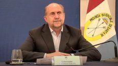 Perotti: Los días de clase se pueden recuperar los sábados y feriados