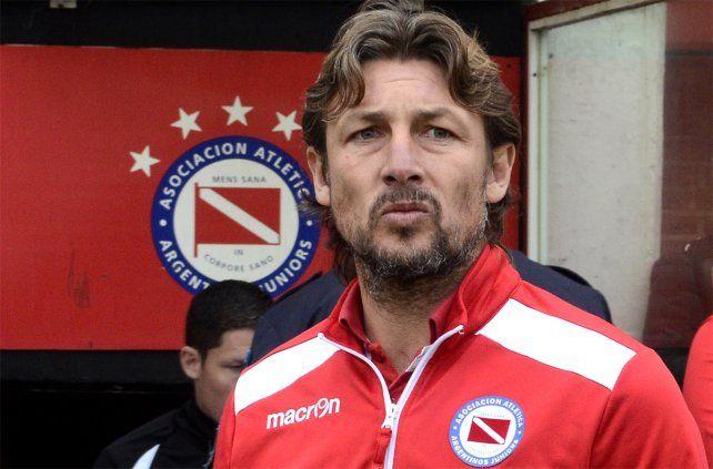 De salida. Heinze confirmó que se va de Argentinos luego de lograr el ascenso a Primera.