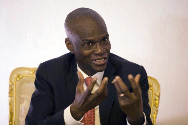 El asesinado presidente de Haití Jovenel Moïse. Buscaba sumar poderes a la Presidencia mediante un referendo constitucional.