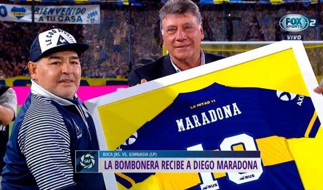 Por la muerte de Diego, Conmebol postergó el partido de Boca e Inter