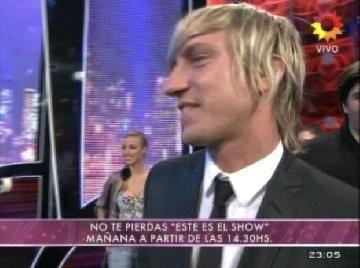 Bailando 2011: Maxi López acaba de pedirle a Wanda que se baje del certamen