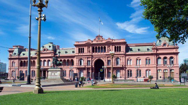 El gobierno invertirá 285 millones de pesos para hacer reformas en la Casa Rosada