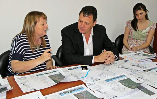 Levin y Raimundo analizaron los planes específicos.