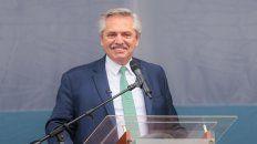 La equivocación del presidente Alberto Fernández en un acto en José C. Paz