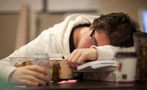 cansado. El estudio arrojó datos que dan cuenta de que al final del año