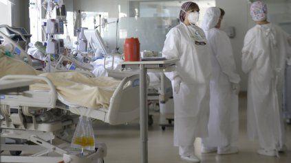 Rosario registra un alto índice de camas ocupadas en terapia intensiva.