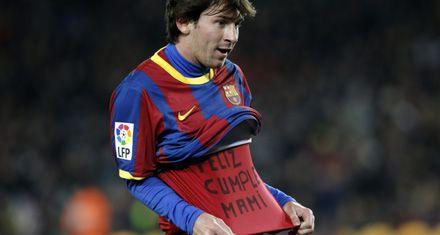 El regalo de cumpleaños de Messi a su mamá le costó 2 mil euros