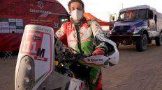 Murió el francés Pierre Cherpin tras su caída en el Dakar