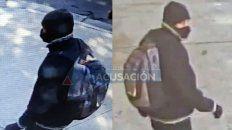 Captura de video del abusador de Castellanos al 400 la mañana del 29 de octubre pasado.