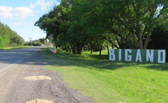 Bigand también fue afectada por el virus tras sobreponerse a distintos focos de contagios en la zona