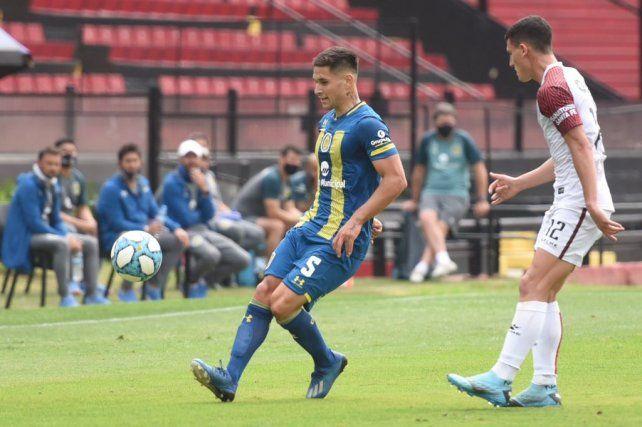 Rodrigo Villagra es clave en el mediocampo de Central.