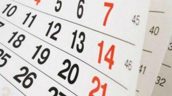 ¿El próximo lunes 7 de diciembre es feriado o día no laborable?