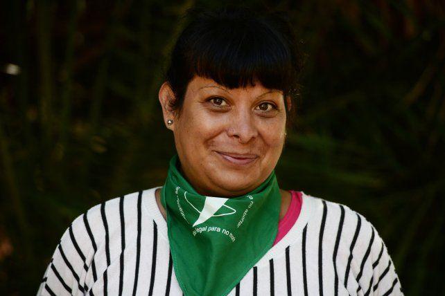 Miya Vargas, militante del colectivo travesti trans y del Movimiento Evita en lucha por la autodeterminación de los cuerpos.