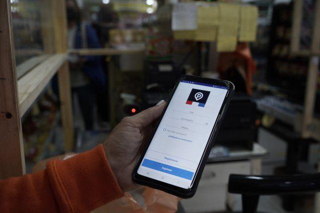 La aplicación es de fácil uso en los comercios adheridos.