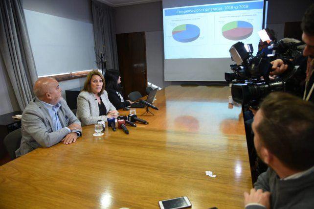 La intendenta Mónica Fein le envió una carta al presidente Mauricio Macri para pedirle que congele el precio del combustible.