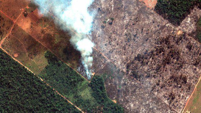 Amazonas. La magnitud de los incendios desataron una tragedia ambiental de consecuencias impredecibles.