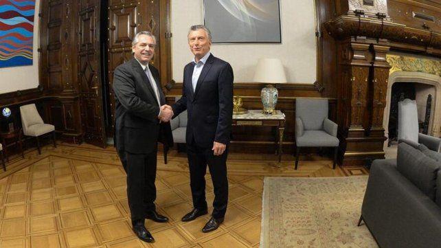 Alberto Fernández desayuna con Macri en la Casa Rosada y arranca la transición