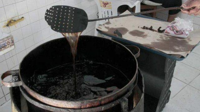 Transformación. El programa está destinado a la producción de biodiesel a partir del aceite usado.