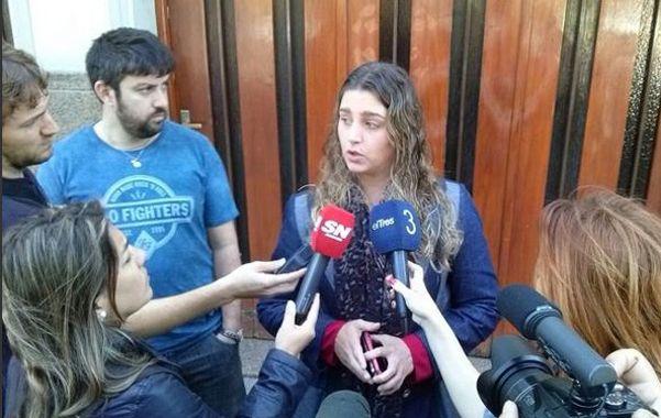 Detalles. La fiscal Marisol Fabbro brindó información sobre la pesquisa que lleva por la muerte de Gerardo Escobar. (foto archivo: Francisco Guillén)