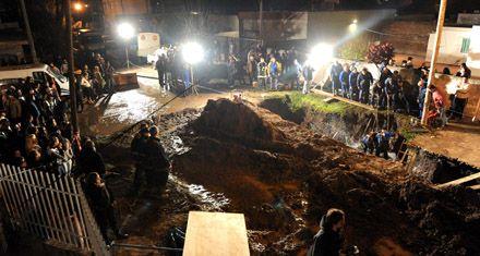 Un tramo del caño que inundó un pozo y ahogó 2 obreros no estaba en los planos