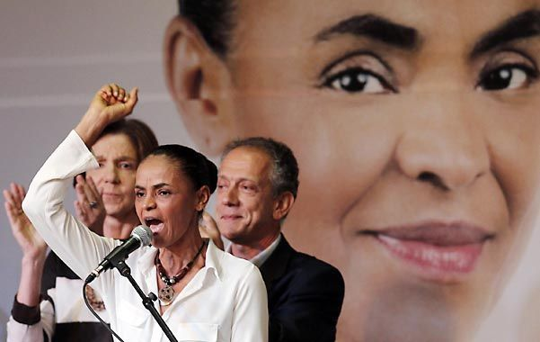Imparable. Silva está captando la simpatía de los sectores brasileños descontentos con la dirigencia política.