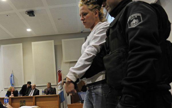 Público. Regina fue condenada en un juicio oral y público en Tribunales. (foto: Silvina Salinas)