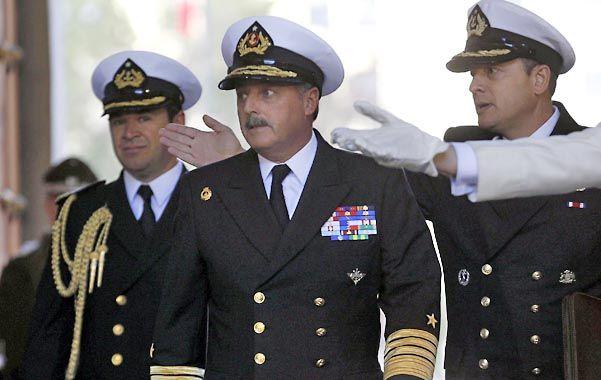 Tensión en chile. La cúpula de la Armada se reunió esta semana con el presidente Sebastián Piñera.