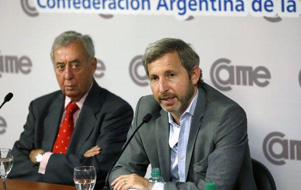 Came. Osvaldo Cornide y Rogelio Frigerio